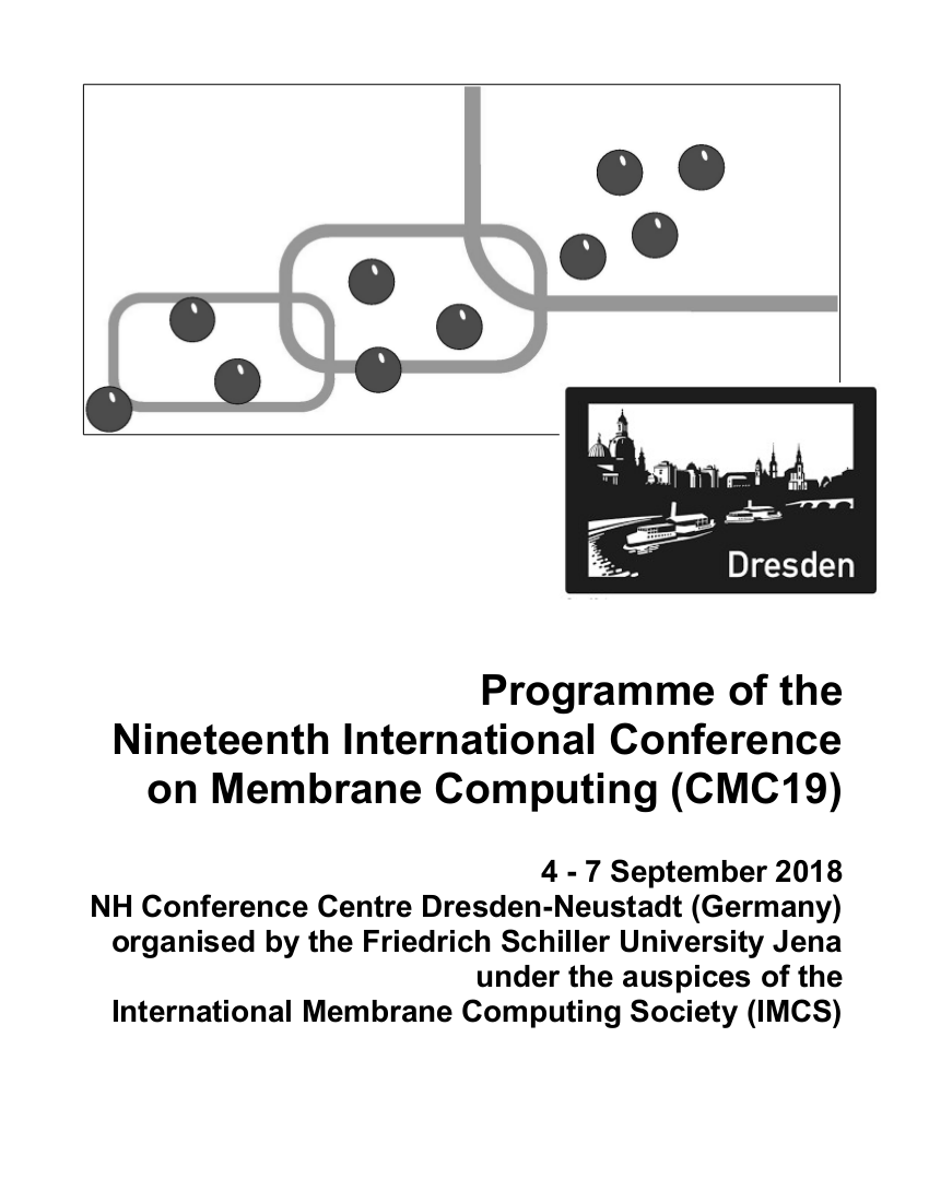 programme booklet cover